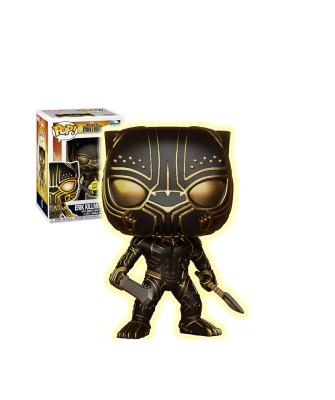 Erik Killmonger (Brilla en la Oscuridad) Black Panther Marvel Muñeco Funko Pop! Bobble Vinyl [279]