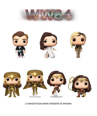 Pack Wonder Woman 1984 DC Muñeco Funko Pop! Vinyl
