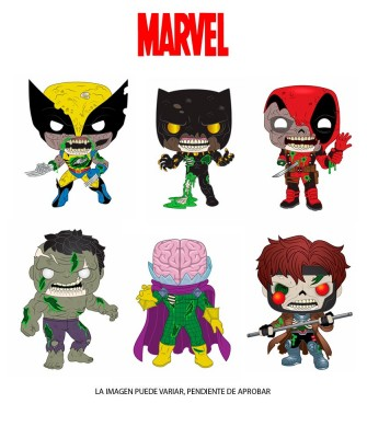 Pack Marvel Zombies Muñeco Funko Pop! Bobble Vinyl