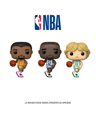 Pack Larry Bird, Magic Johnson y Shaquille O'Neal NBA Legends Muñeco Funko Pop! Vinyl