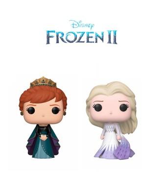 Pack Anna y Elsa Epílogo Frozen II Disney Muñeco Funko Pop! Vinyl