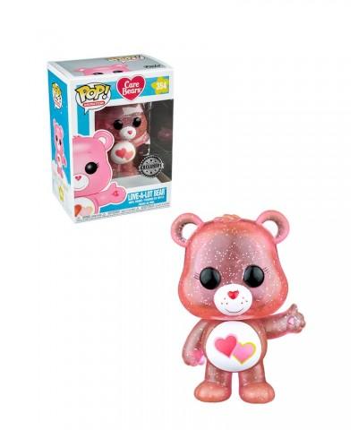 EXCLUSIVE Love-A-Lot Bear Glitter Care Bears Funko Pop! Vinyl