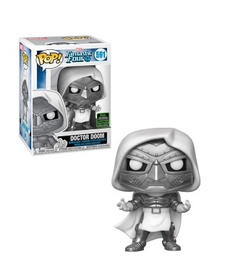 Spring Convention 2020 Doctor Doom Los Cuatro Fantásticos Marvel Muñeco Funko Pop! Bobble Vinyl [591]