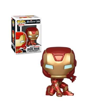 Iron Man Avengers Game Marvel Muñeco Funko Pop! Bobble Vinyl