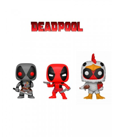 Pack Deadpool Marvel Muñeco Funko Pop! Bobble Vinyl