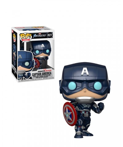 Capitán América Avengers Game Marvel Muñeco Funko Pop! Bobble Vinyl