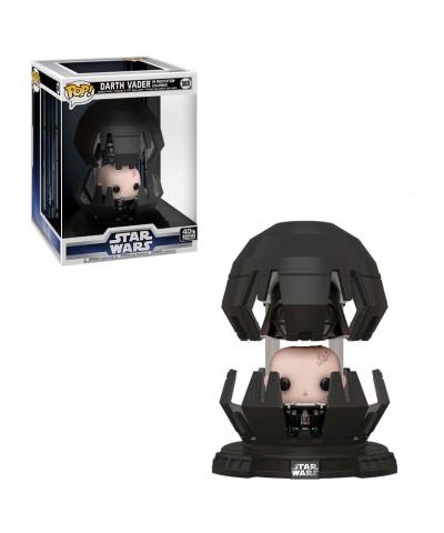 Darth Vader Cámara Meditación Star Wars Muñeco Funko Pop! Deluxe Bobble Vinyl