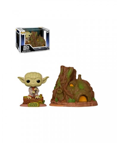 Yoda Cabaña Star Wars Muñeco Funko Pop! Town Vinyl