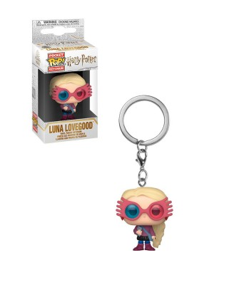 Llavero Luna Lovegood Gafas Harry Potter Muñeco Funko Pop! Pocket