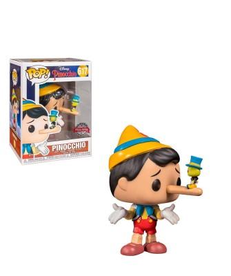 Pinocho con Pepito Grillo Disney Muñeco Funko Pop! Vinyl [617]