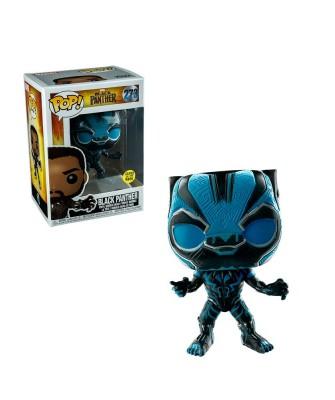Pantera Negra (Brilla en la Oscuridad) Black Panther Marvel Muñeco Funko Pop! Bobble Vinyl [273]