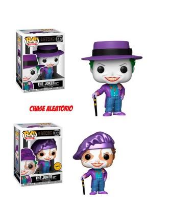 Joker con Sombrero Batman 1989 DC Muñeco Funko Pop! Vinyl (Chase Aleatorio)