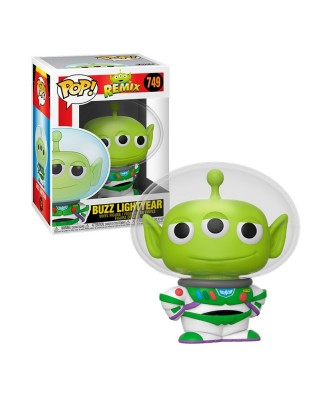 Buzz Lightyear Alien Remix Disney Pixar Muñeco Funko Pop! Vinyl [749]