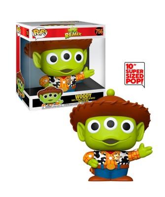 "Woody 10"" Alien Remix Disney Pixar Muñeco Funko Pop! Vinyl [756]"
