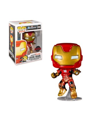 Iron Man Gamerverse  Marvel Avengers Muñeco Funko Pop! Vinyl [634]