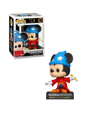 Sorcerer Mickey Disney Archives Muñeco Funko Pop! Vinyl [799]