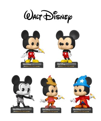 Pack Mickey Mouse Disney Archives Muñeco Funko Pop! Vinyl
