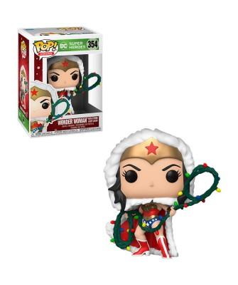Wonder Woman Lazo con Luces DC Holiday Muñeco Funko Pop! Vinyl [354]