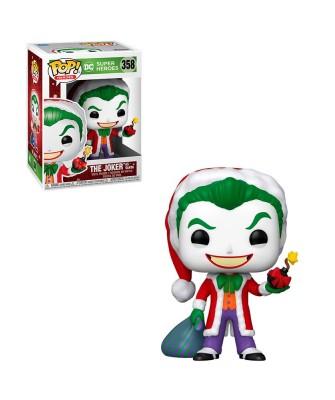 Santa Joker DC Holiday Muñeco Funko Pop! Vinyl [358]