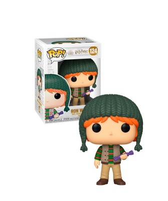 Ron Weasley Holiday Harry Potter Muñeco Funko Pop! Vinyl [124]