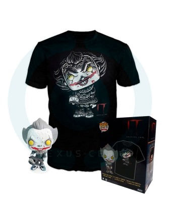 Pennywise IT Capítulo 2 Pop! & Tee Caja Funko