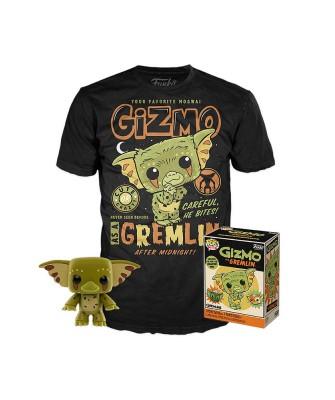 Gizmo Gremlins Pop! & Tee Caja Funko