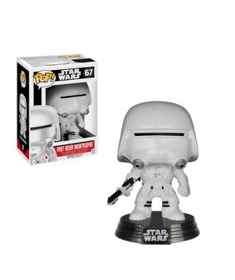 First Order Snowtrooper Star Wars El Despertar de la Fuerza Muñeco Funko Pop! Bobble Vinyl [67]