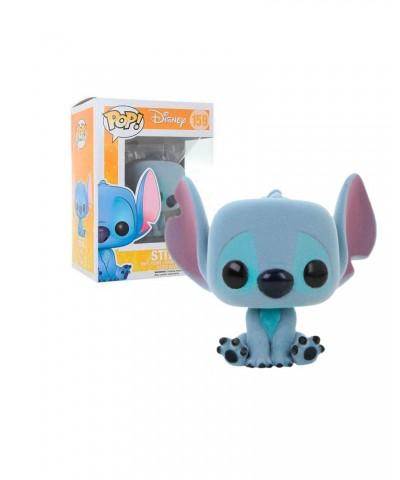 Stitch Seated (Flocked ) Lilo y Stitch Disney Muñeco Funko Pop! Vinyl [159]