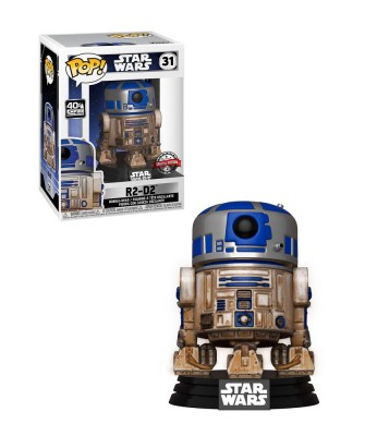 Special Edition Dagobah R2-D2 Star Wars Muñeco Funko Pop! Bobble Vinyl [31]