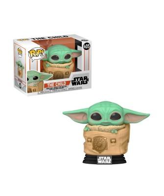 Baby Yoda en la Bolsa The Mandalorian Star Wars Muñeco Funko Pop! Bobble Vinyl [405]