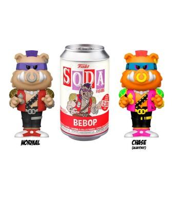 Bebop Tortugas Ninja Funko Vinyl Soda (Chase Aleatorio)