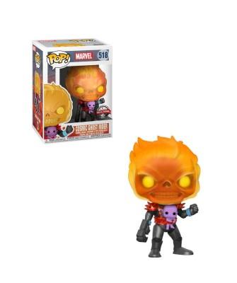 Special Edition Cosmic Ghost Rider Marvel Muñeco Funko Pop! Bobble Vinyl [518]