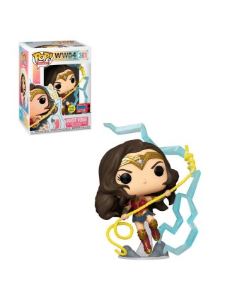 Fall Convention 2020 Wonder Woman (Brilla en la Oscuridad) WW84 Muñeco Funko Vinyl [361]