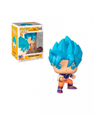 Special Edition SSGSS Goku Dragon Ball Super Muñeco Funko Pop! Vinyl [668]
