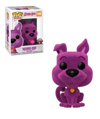 Special Edition Scooby Doo Morado (Flocked) Muñeco Funko Pop! Vinyl [149]