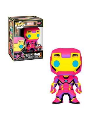 Iron Man Black Light Marvel Muñeco Funko Pop! Bobble Vinyl [649]