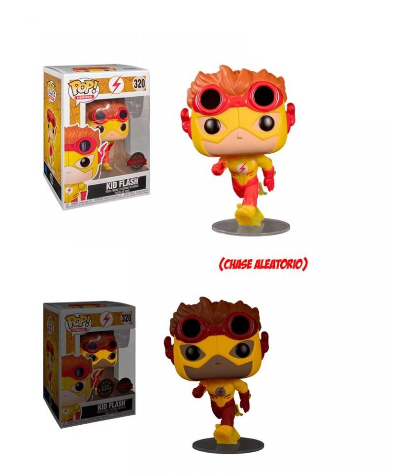 Special Edition Kid Flash DC Muñeco Funko Pop! Vinyl [320] Chase Aleatorio