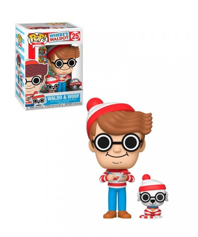 Special Edition Wally con Woof ¿Dónde está Wally? Muñeco Funko Pop! Vinyl [25]