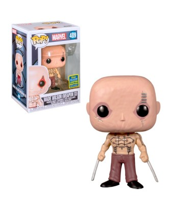 Summer Convention Wade Wilson Marvel Muñeco Funko Pop! Bobble Vinyl [489]