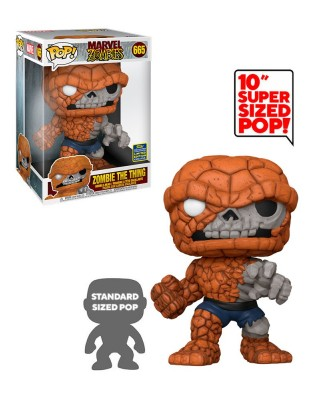"Summer Convention 2020 La Cosa Zombie 10"" Marvel Muñeco Funko Pop! Bobble Vinyl [665]"