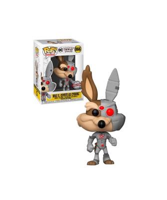 Special Edition Coyote como Cyborg Looney Tunes Muñeco Funko Pop! Vinyl