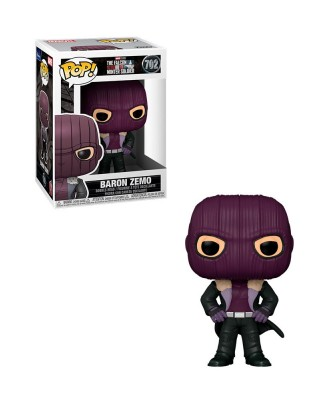 Baron Zemo The Falcon and the Winter Soldier Marvel Muñeco Funko Pop! Bobble Vinyl [702]