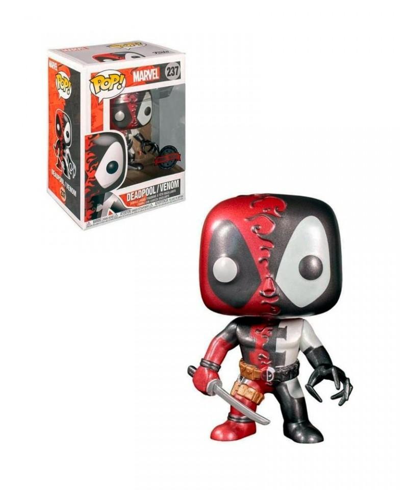 Special Edition Deadpool / Venom Metálico Marvel Muñeco Funko Pop! Bobble Vinyl [237]