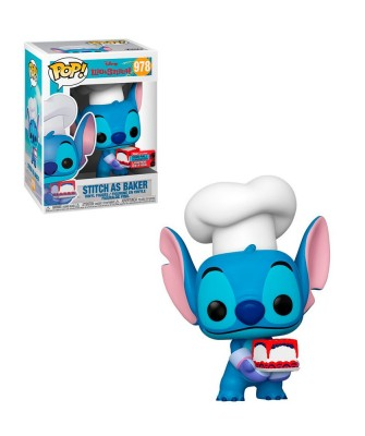 Fall Convention 2020 Stitch as Baker Lilo y Stitch Disney Muñeco Funko Pop! Vinyl [978]