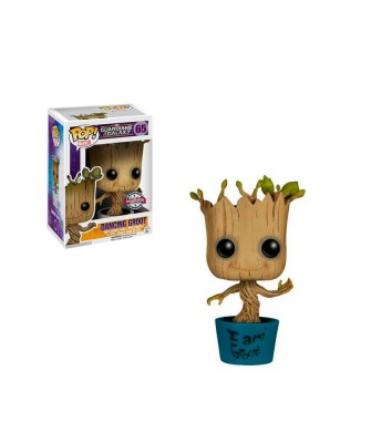 Special Edition Dancing Groot Guardianes de la Galaxia Marvel Muñeco Funko Pop! Bobble Vinyl [65]