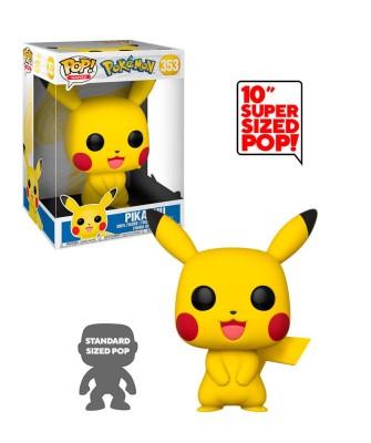 """Pikachu 10"""" Pokemon Muñeco Funko Pop! Vinyl [353]"""