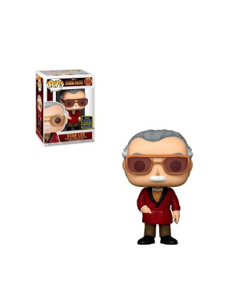Summer Convention 2020 Stan Lee Iron Man Marvel Muñeco Funko Pop! Bobble Vinyl [656]