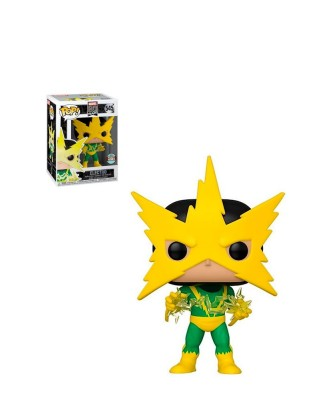 Specialty Series Electro (1ª Aparición) Marvel 80th Muñeco Funko Pop! Bobble Vinyl