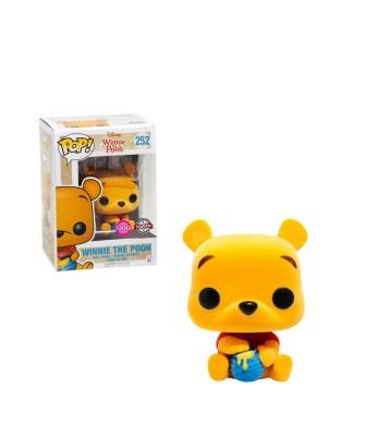 EXCLUSIVE Flocked Winnie The Pooh Disney Funko Pop! Vinyl