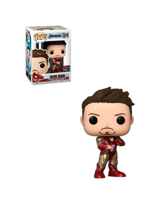 Fall Convention 2019 Iron Man Guantelete Avengers Endgame Marvel Muñeco Funko Pop! Bobble Vinyl [529]